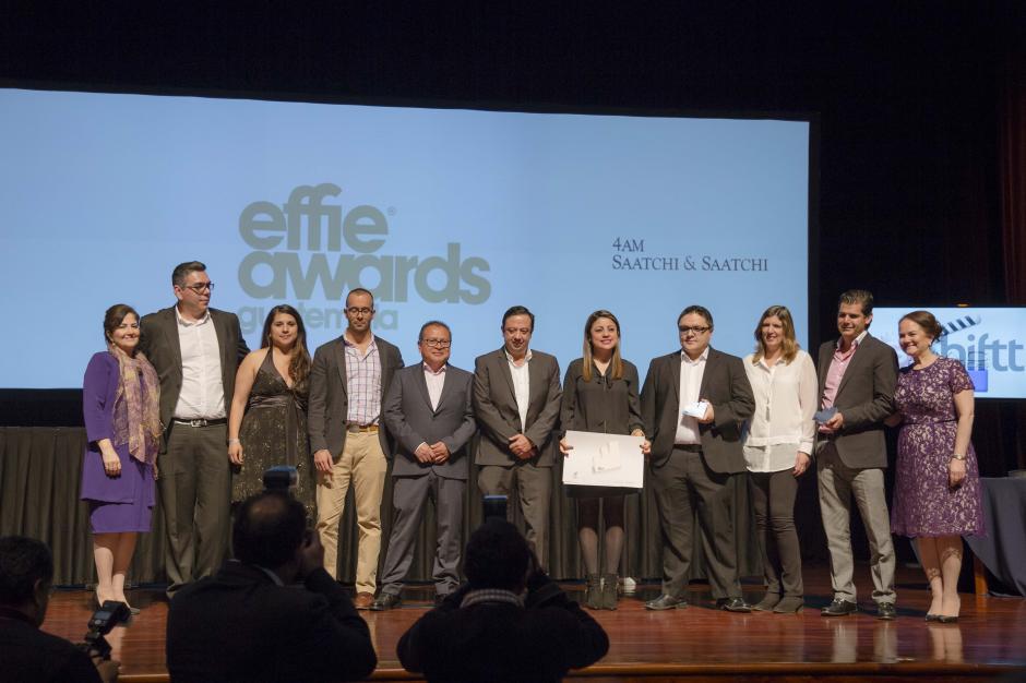"""""""Desfrijolízate"""" de Tigo y agencia Impact recibieron plata en la categoría Éxito Sostenido. (Foto: George Rojas/Soy502)"""