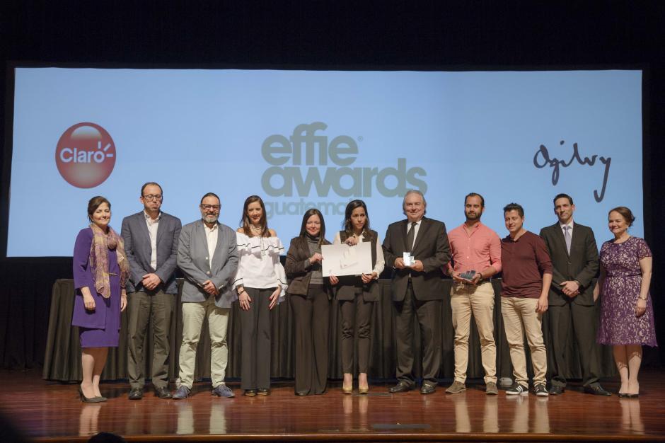 Claro y Ogilvy Guatemala ganaron plata en la categoría Relanzamientos. (Foto: George Rojas/Soy502)
