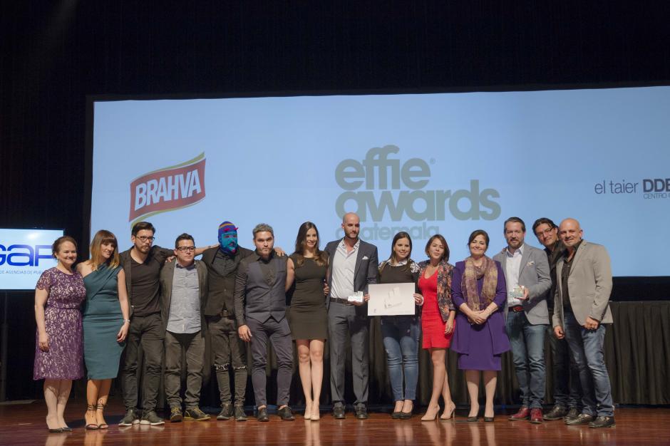 En la categoría Promociones, Brahva y la agencia El Taier DDB Centro fueron galardonados con el Effie Plata . (Foto: George Rojas/Soy502)