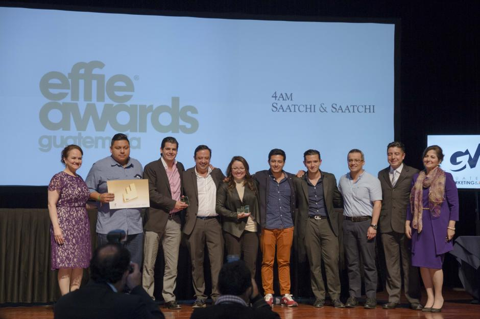 Domino´s y 4am Saatchi&Saatchi recibieron oro en la categoría Interactivos. (Foto: George Rojas/Soy502)