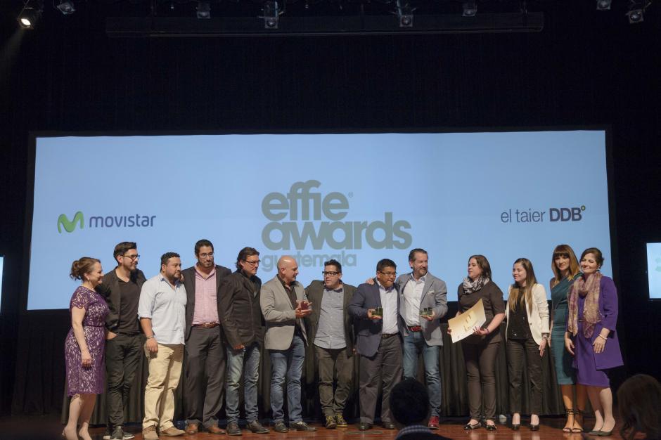Movistar y El Taier DDB Centro ganaron oro en la categoría Idea de Medios. (Foto: George Rojas/Soy502)