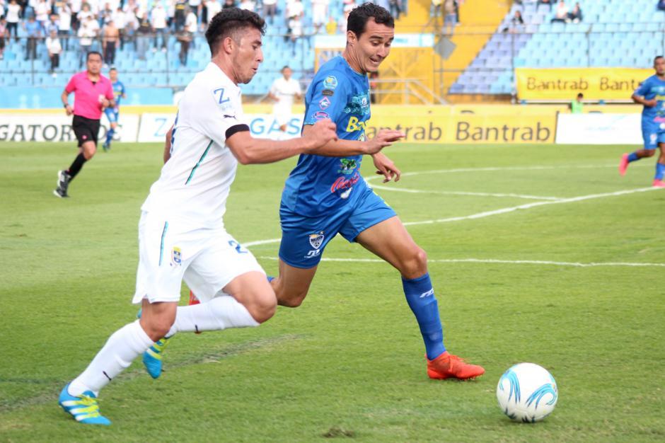El equipo de Cobán vino a la capital a proponer fútbol. (Foto: José Dávila/Soy502)