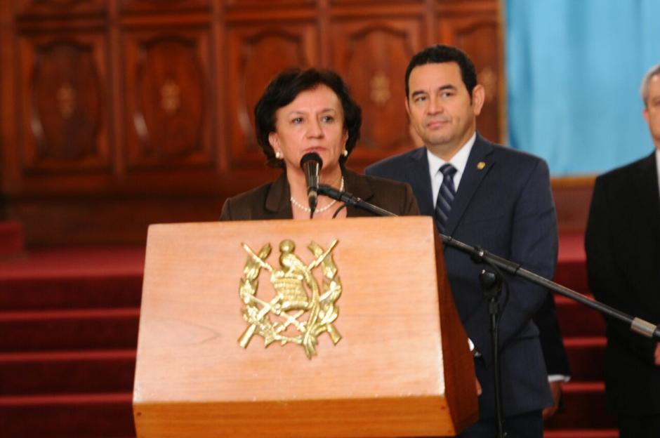 Morfín se convierte en la segunda mujer en ocupar este cargo público. (Foto: Alejandro Balán/Soy502)