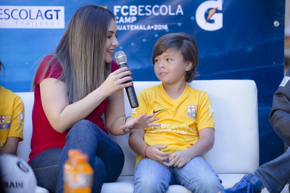 Nicolás dice estar emocionado de viajar, próximamente, a Barcelona. (Foto: George Rojas/Soy502)