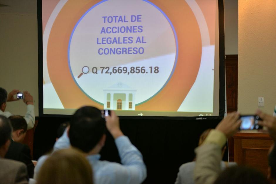 En el Congreso se presentaron 7 denuncias y 2 informes de cargo.  (Foto: Wilder López/Soy502)