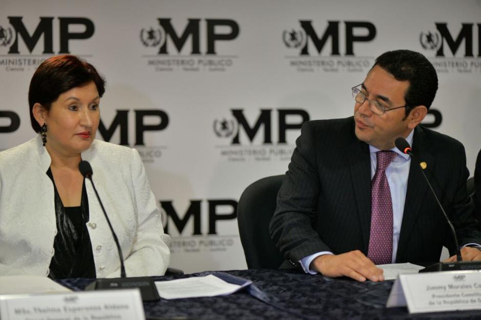 El Presidente anunció la intervención de TCQ. (Foto: Wilder López/Soy502)