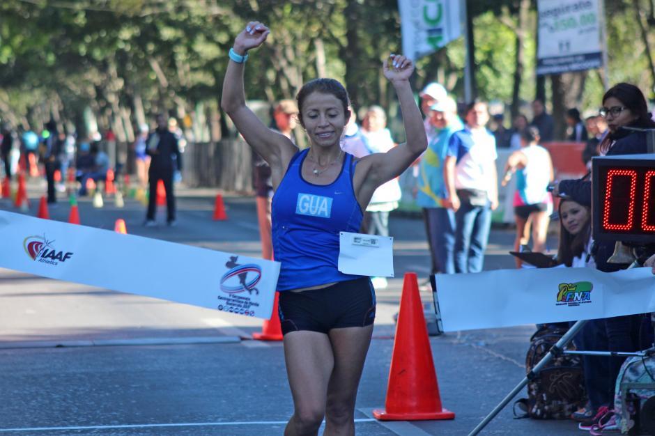 Mayra Herrera fue la ganadora en la categoría mayor masculina. (Foto: José Dávila/Soy502)