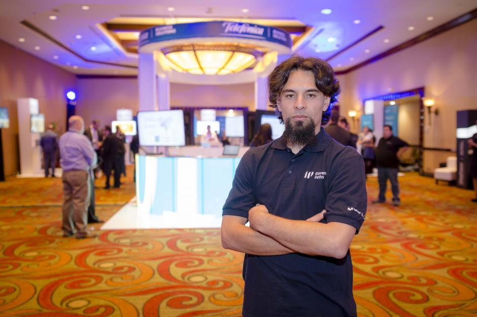 """Diego Espitia, director de Eleven Paths, aseguró que """"todos podemos ser víctimas del cibercrimen"""". (Foto: George Rojas/Soy502)"""
