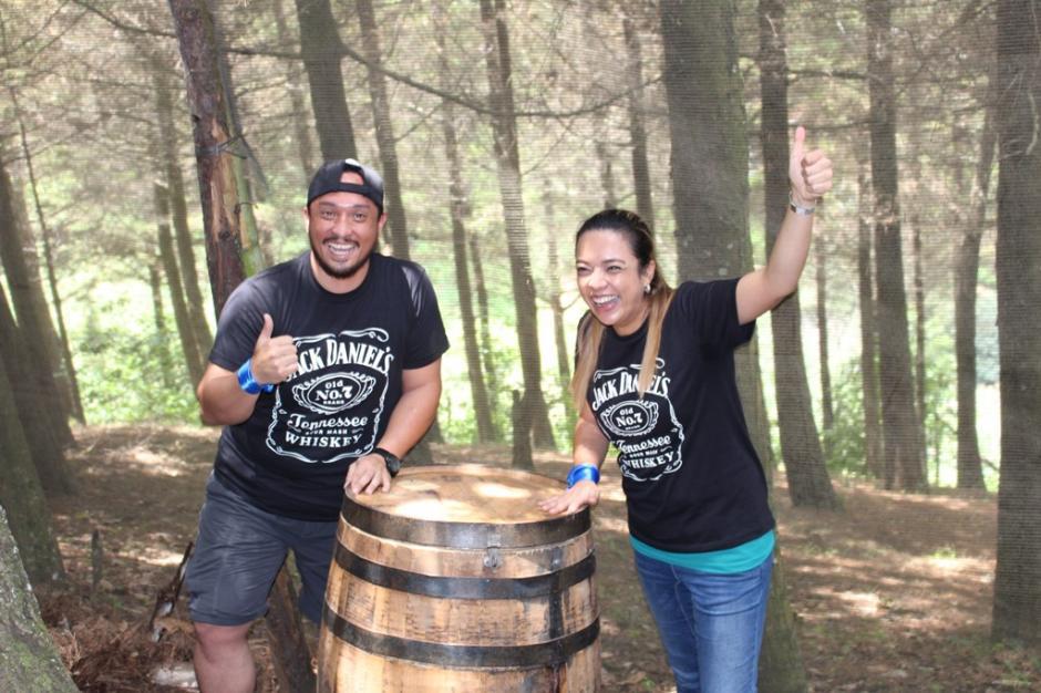 Gabriela Chuy y Estuardo Chuy fueron los ganadores. (Foto: cortesía Jack Daniel´s)