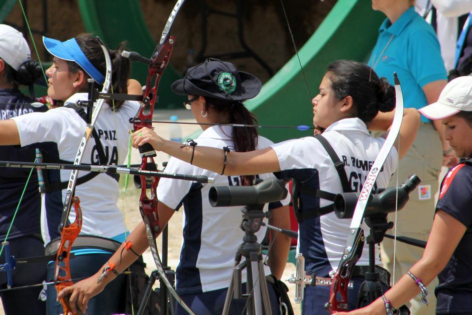 Regina Romero, tiro con arco, Guatemala