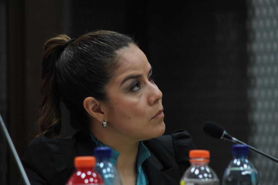 Claudia Méndez conocerá este martes su futuro legal en el caso La Línea. (Foto: Jesús Alfonso/Soy502)