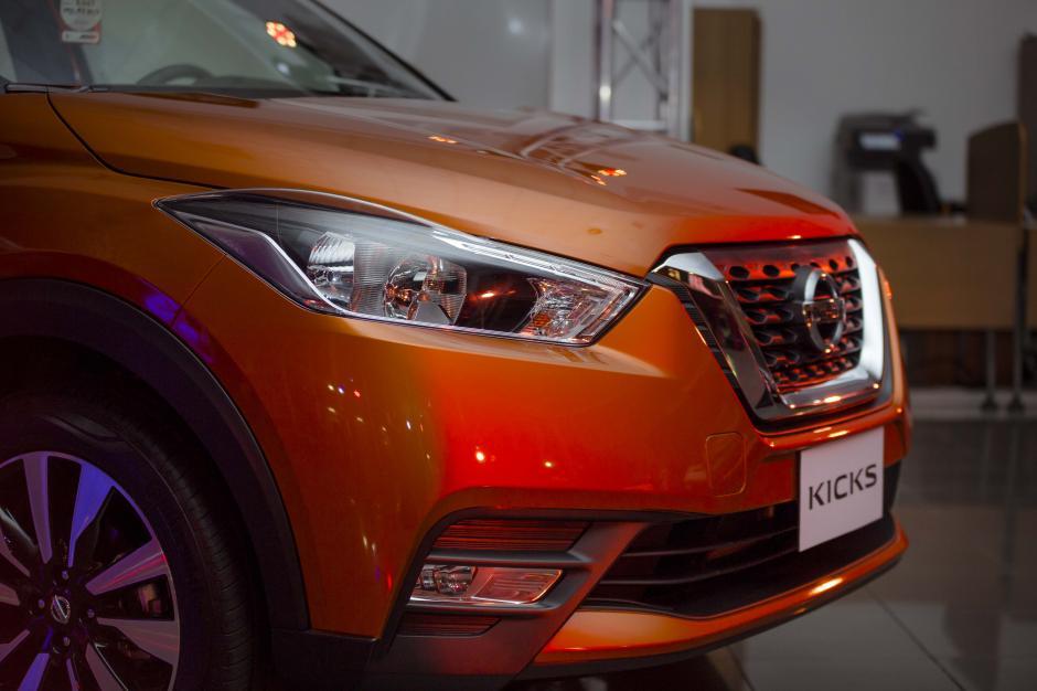 Los faros LED y parrilla V-motion la hacen ver aerodinámica y atractiva. (Foto: George rojas/Soy502)