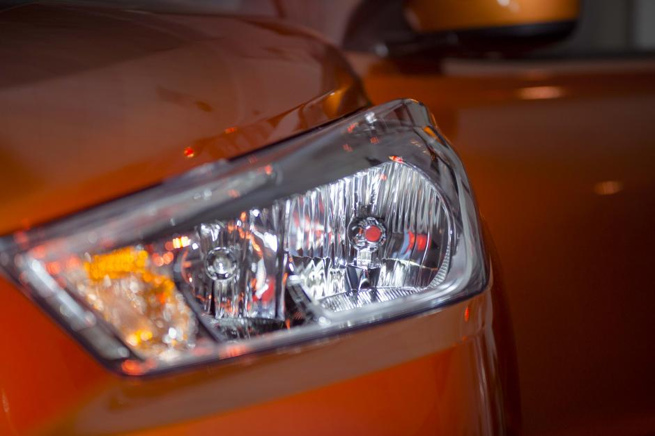 Sus faros LED la hacen ver potente y elegante. (Foto: George rojas/Soy502)