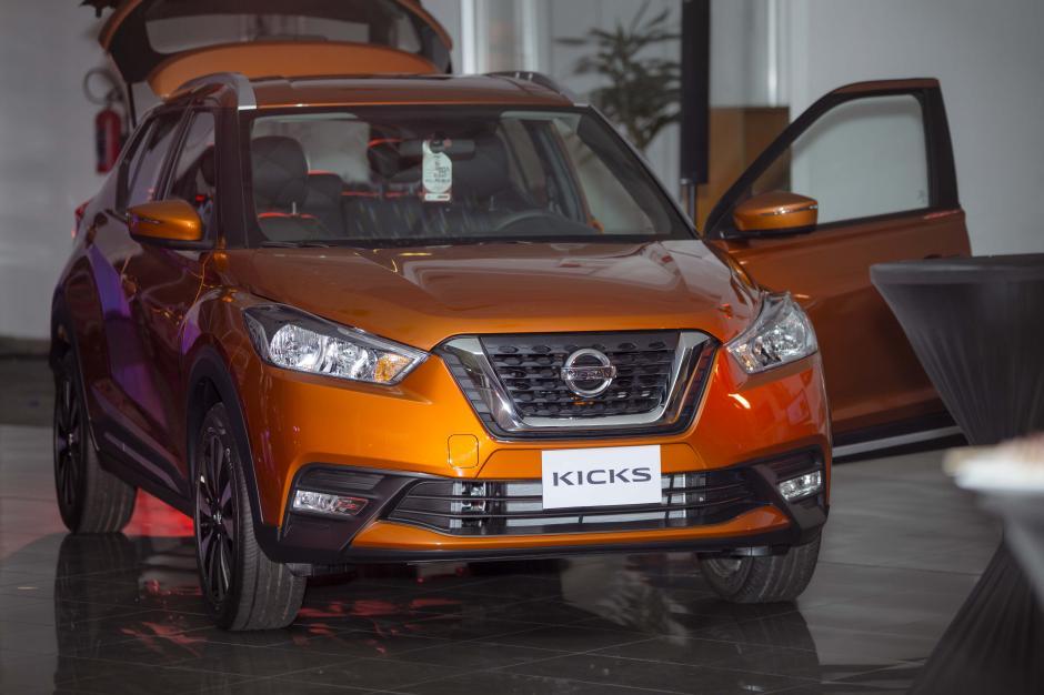 La nueva Nissan Kicks tiene un diseño deportivo y elegante. (Foto: George rojas/Soy502)