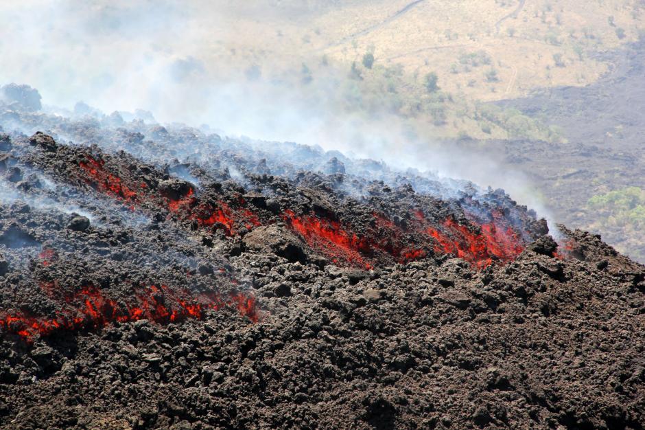 La actividad del Volcán de Pacaya vuelve a preocupar a los guatemaltecos. (Foto: Esteban Biba/Soy502)