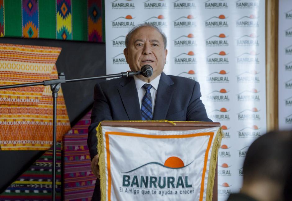 Julio Contreras Giorgis, presidente en funciones Consejo de Adm. ASRURAL, habló sobre la importancia de la seguridad de los estudiantes. (Foto: George Rojas/soy502)