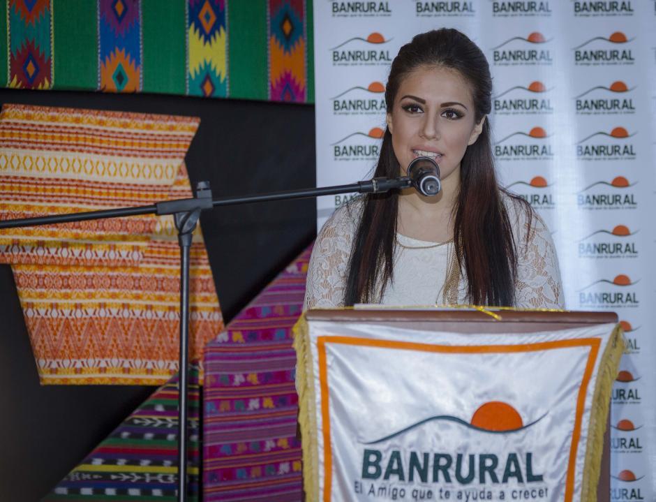 Fabiola Rouda, además de cantante es también estudiante y recalcó la importancia de la seguridad de los universitarios. (Foto: George Rojas/soy502)
