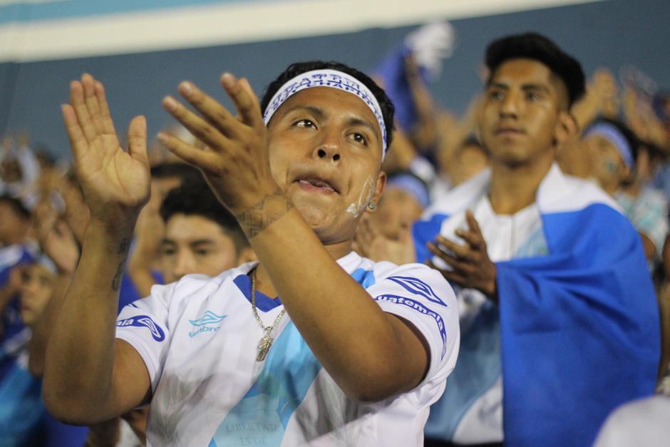 Al final, la Selección Nacional fue despedida entre aplausos y elogios. (Foto: José Dávila/Soy502)
