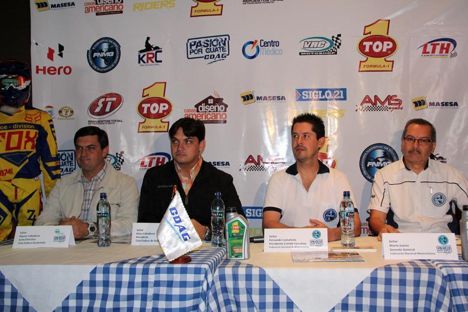 Federación de motociclismo, Guatemala, Enduro, Trial, Motocross, Motovelocidad