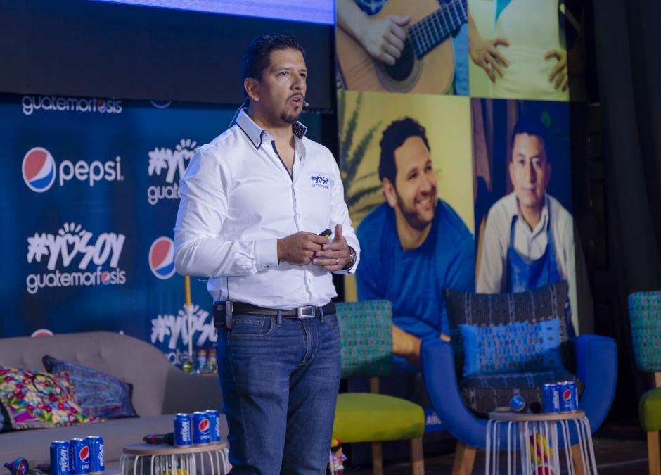 César Solórzano, gerente de Mercadeo Pepsi, compartió su entusiasmo por la iniciativa. (Foto: George Rojas/Soy502)