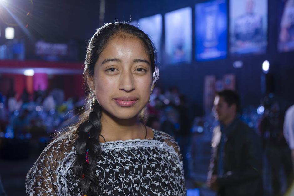 María Mercedes Coroy, protagonista de la película Ixcanul y primera actriz guatemalteca en ganar un premio de cine en el mundo. (Foto: George Rojas/Soy502)