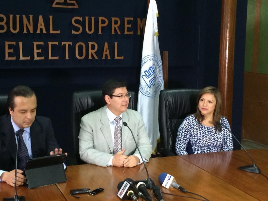 La directora electoral, Gloria López, dijo que solo Jalapa es el departamento al aún no se han enviado los insumos por petición de la Junta Receptora Departamental. (Foto: Roberto Caubilla/Soy502)