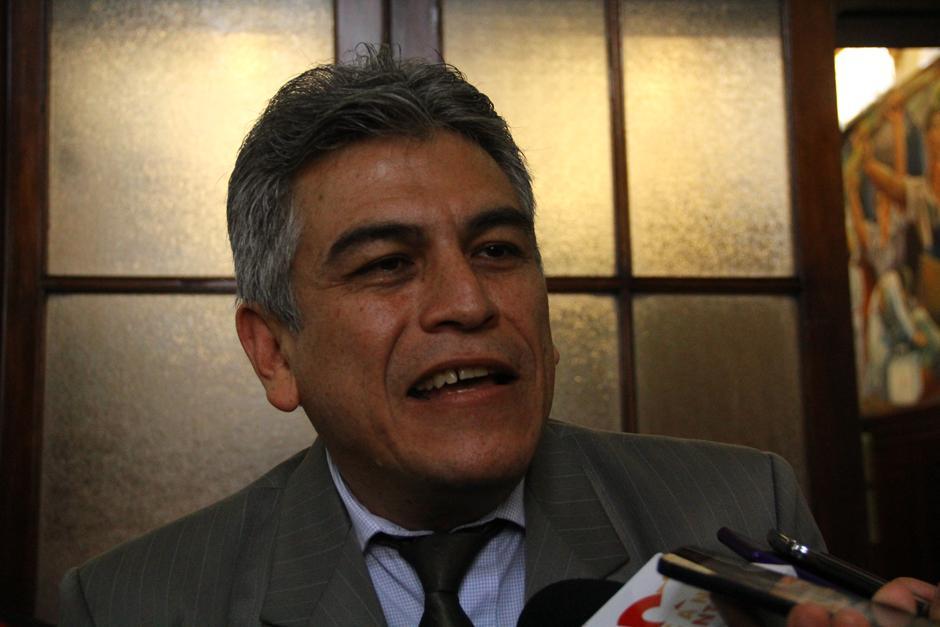 José Ramón Lam, de FCN, señaló que un presupuesto sin candados les permitirá trabajar para la población. (Foto: Alexis Batres/Soy502)