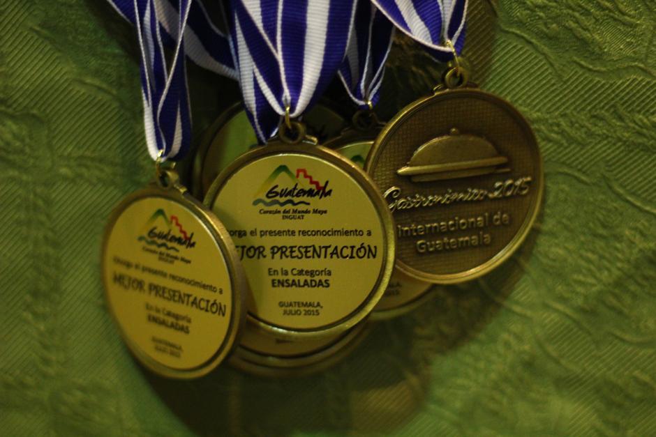Los Chefs recibieron medallas y trofeos, y los fondos recolectados se distribuirán en asociaciones de beneficencia. (Foto: Alexis Batres/Soy502)