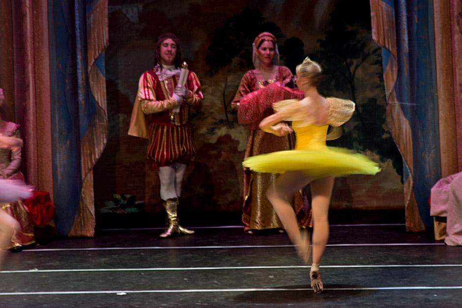 La música de Tchaikovsky le dio vida al acto. (Foto: José Dávila/Soy502)