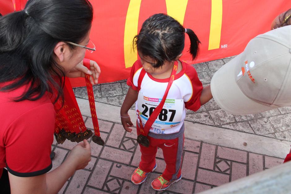 Hasta los más pequeños participaron en esta actividad deportiva. (Foto: Antonio Ordoñez/Soy502)