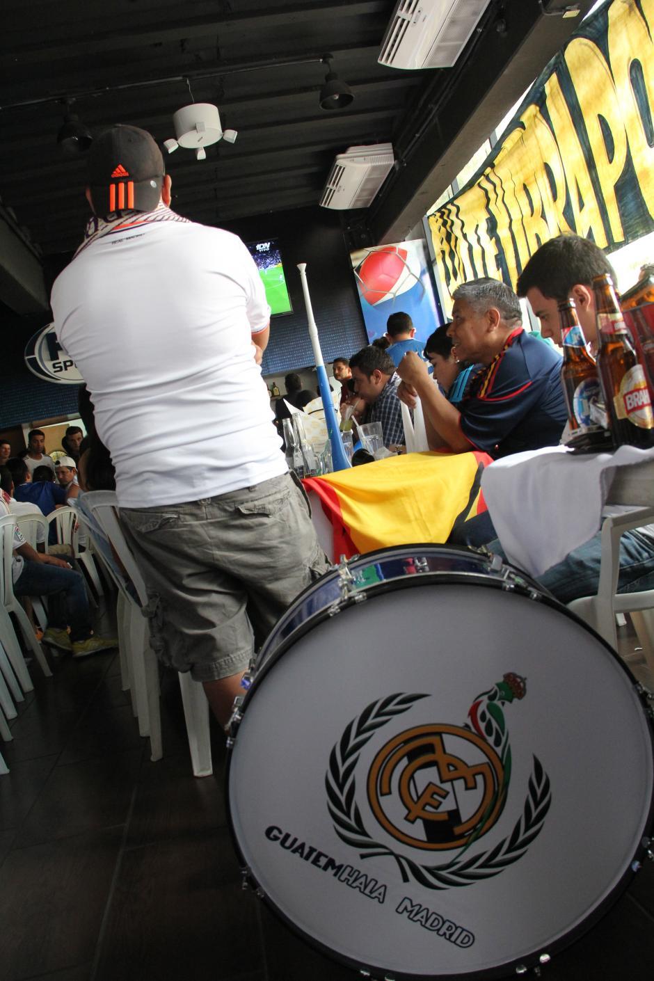 GuatemHala apoya al Real Madrid desde su rítmico corazón. (Foto: Antonio Ordoñez/Soy502)