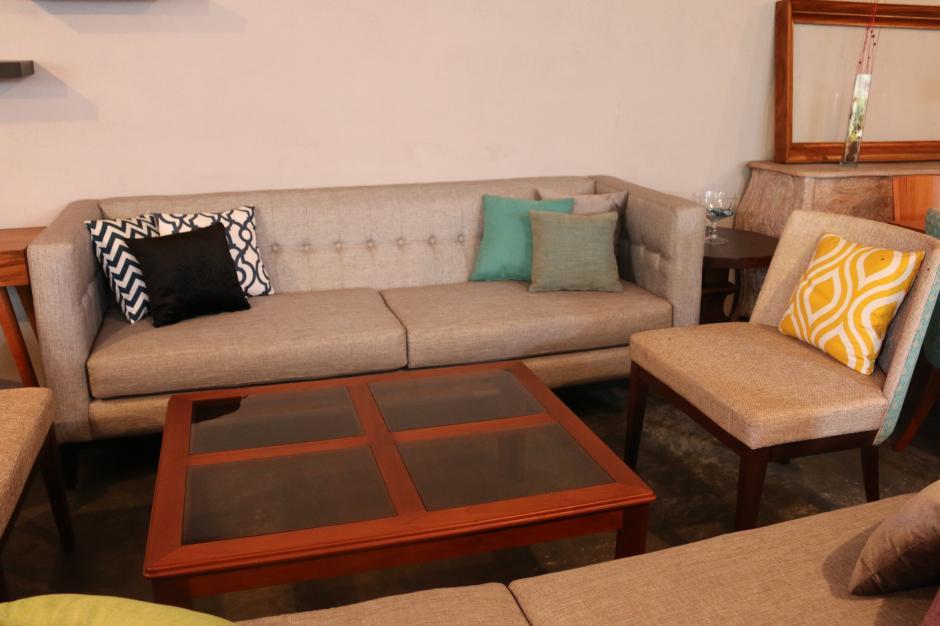 Algunos de los muebles fabricados por Fredy han llegado a hogares y oficinas de Europa y América. (Foto: Agexport)