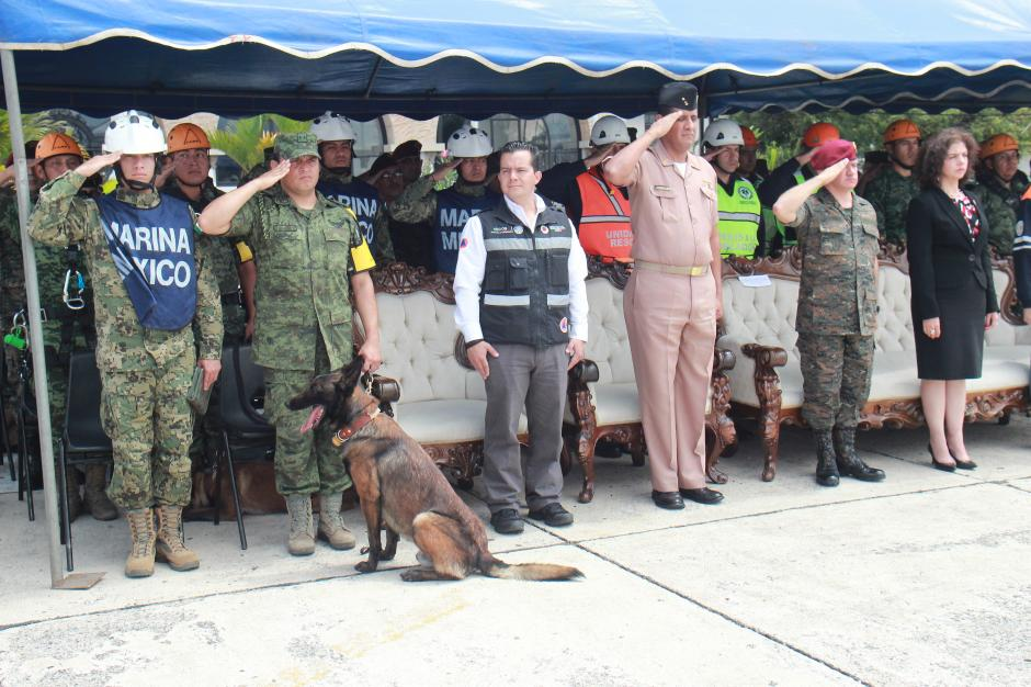 Los rescatistas mexicanos ya regresaron a su país. (Foto: Alejandro Balán/Soy502)