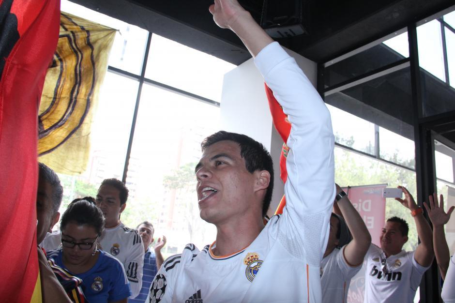 La emoción embargó a la afición guatemalteca porque La Liga, es La Liga. (Foto: Antonio Ordoñez/Soy502)