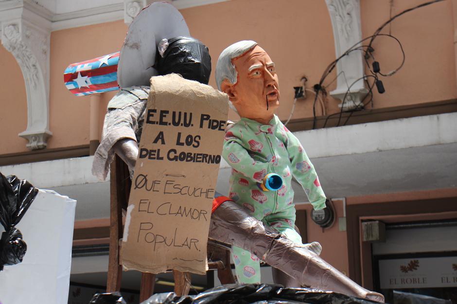 También se criticó a EE.UU. por la supuesta intromisión en los asuntos nacionales. (Foto: Alejandro Balan/Soy502)