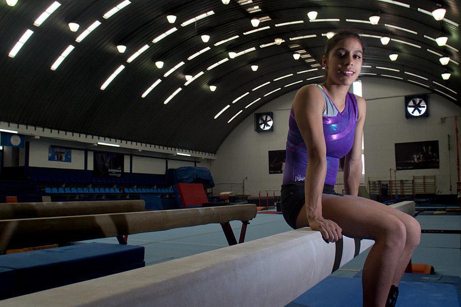 Ana Sofía Gómez empezó a hacer gimnasia desde los 7 años. Ha sido parte fundamental de su vida. (Foto: Archivo/Soy502)