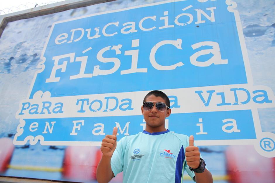 Rubén Granados es producto de la escuela de iniciación que promueve la Digef. (Foto: Luis Barrios/Soy502)