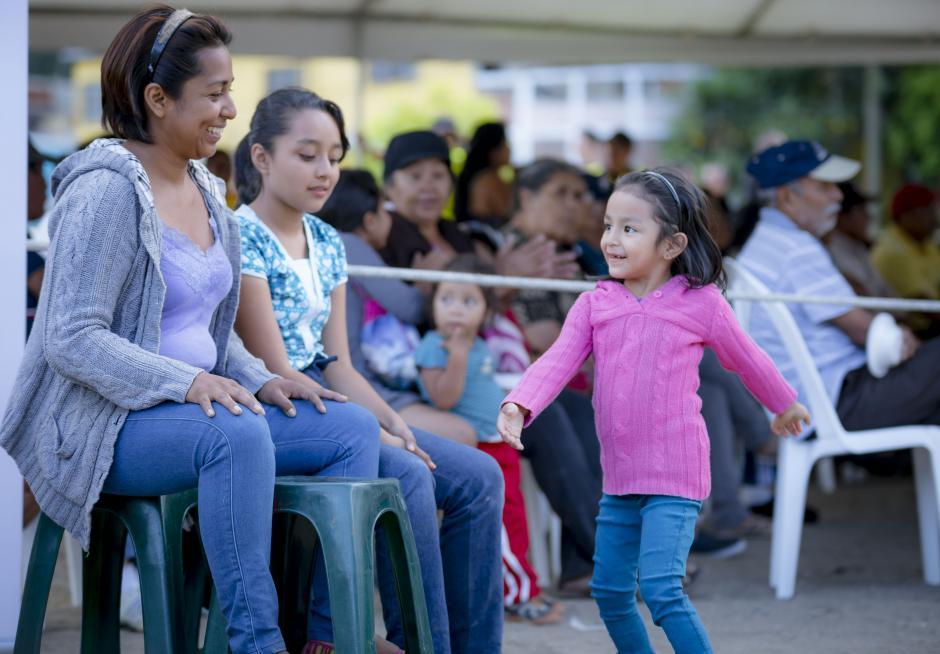 En un ambiente familiar, el público pudo disfrutar de todo tipo de música.(Foto: George Rojas/Soy 502)