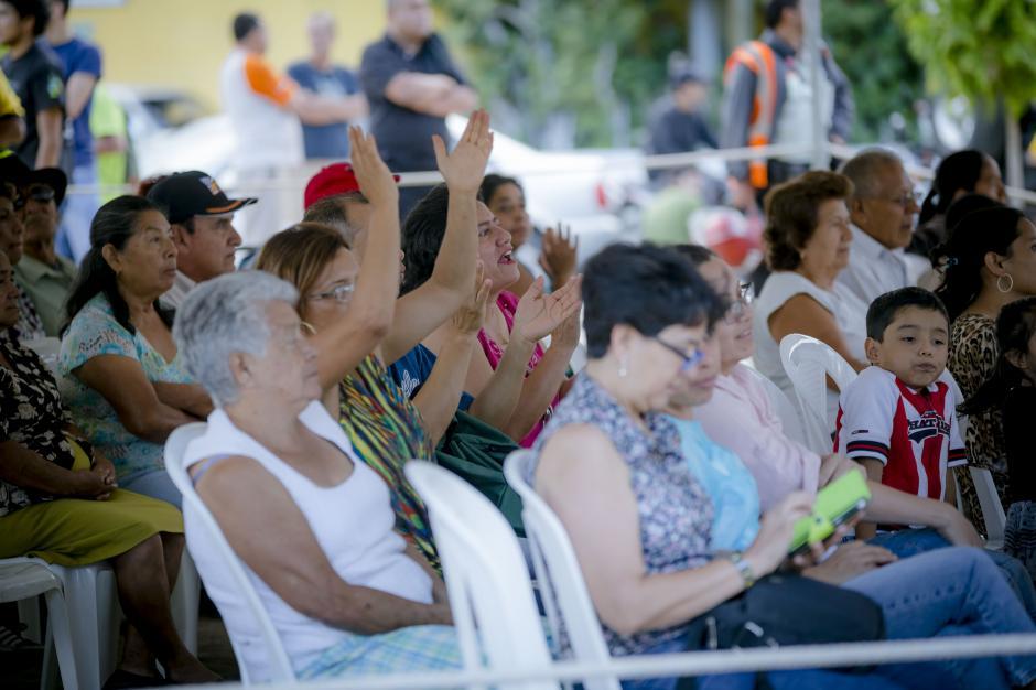 Gente de todas las edades se reunió para celebrar el 2do Festival por la dignidad y la paz de la zona 6.(Foto: George Rojas/Soy502)