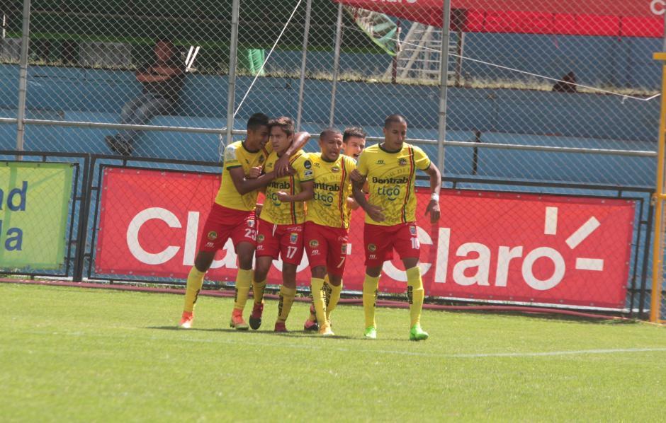 Marquense sacó un valioso punto visitando el estadio Manuel Felipe Carrera. (Foto: Luis Barrios/Soy502)