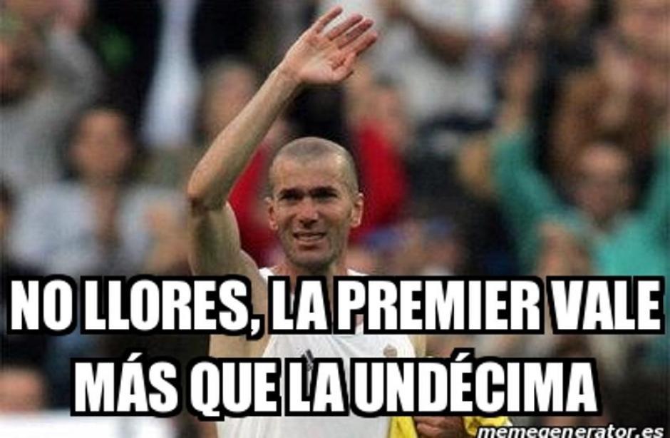 Los memes también recordaron a Zidane por no conseguir el trofeo. (Foto: Twitter)