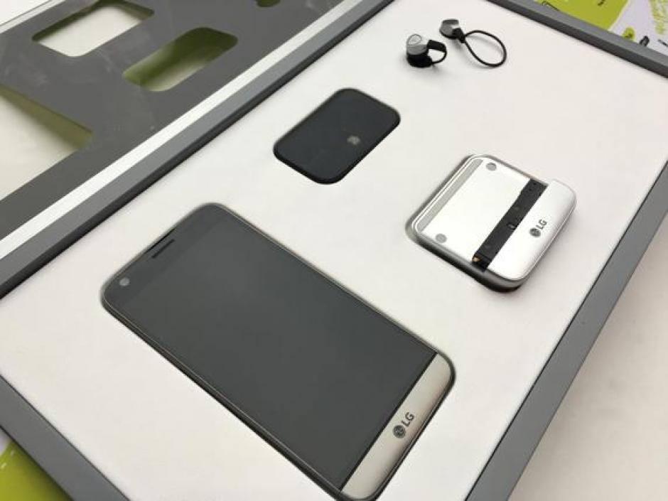 El G5 cuenta con módulos especiales para mejorar la cámara y el sonido. (Foto: lavanguardia.com)