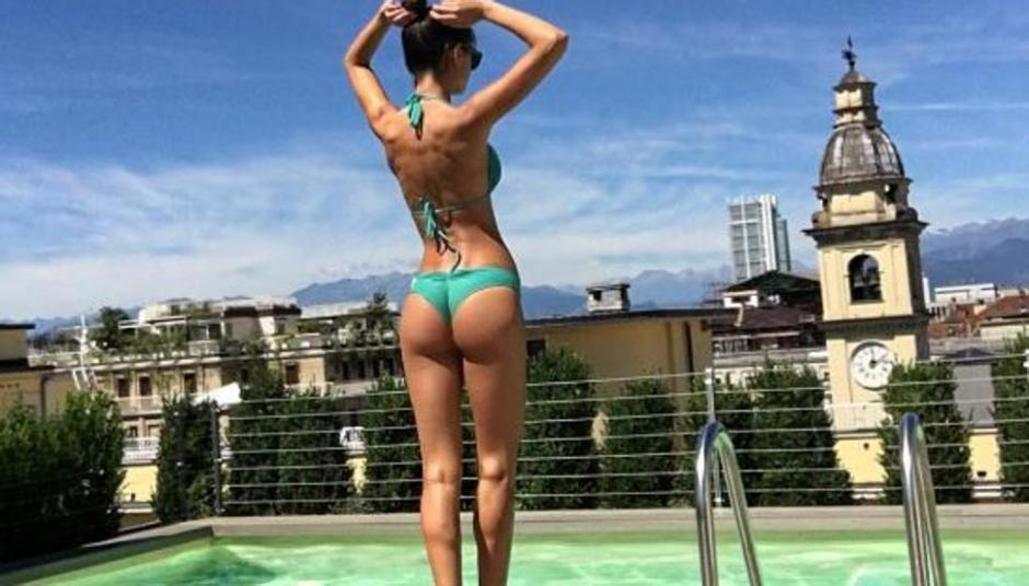 La modelo canaria Joana Sanz muestra cómo es parte de la nueva casa donde vivirá con Dani Alves en Italia. (Foto: Instagram Joana Sanz)