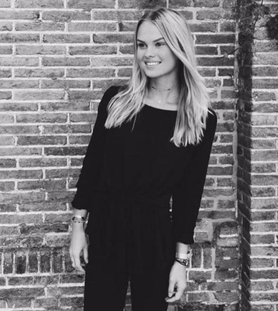 Ella es Romy la hija menor de Frank de Boer. (Foto: Instagram)