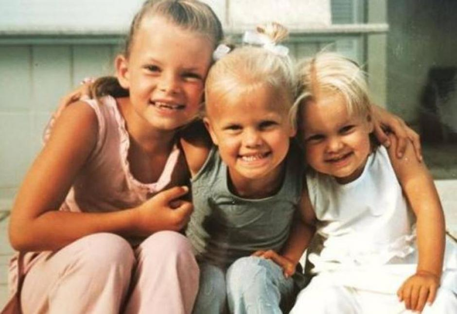Las hijas de Frank de Boer, Beau causan sensación en Italia. (Foto: Instagram)