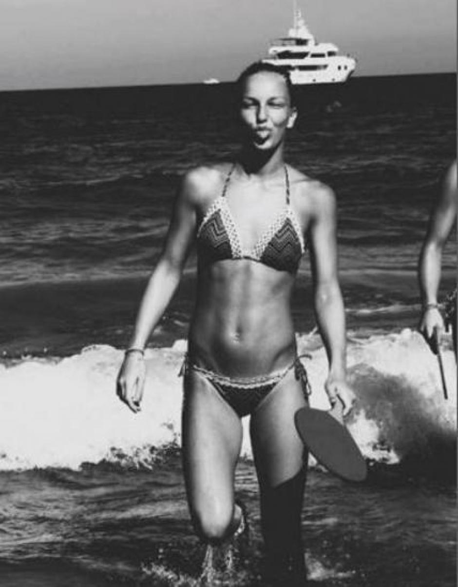 Beau una de las hijas de Frank de Boer, causa sensación en Italia. (Foto: Instagram)