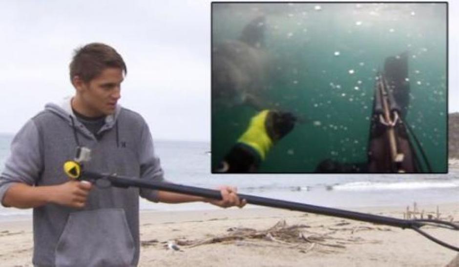 Tyler McQuillen relató el susto que se llevó al ser atacado por un tiburón. (Foto: Twitter)