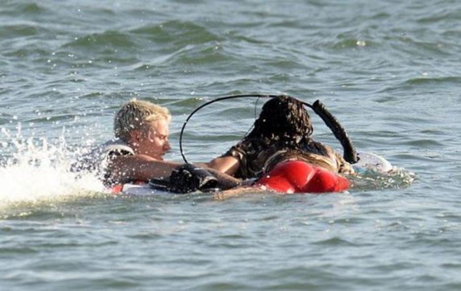 Se les ha visto tomando el sol en un yate privado y haciendo deportes de agua. (Foto: mundodeportivo.com)