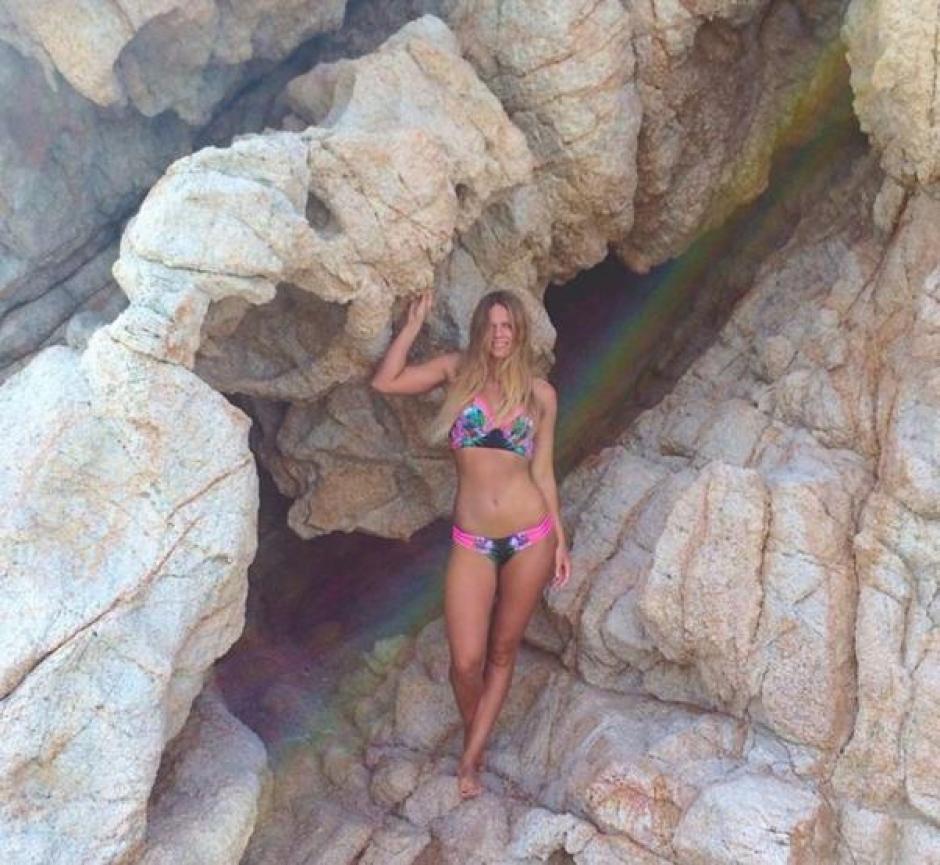 Cuando no está en la piscina, Yuliya disfruta de las playas. (Foto: Instagram Yuliya Efinova)