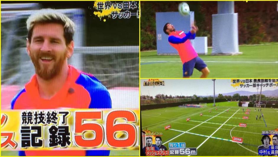 El argentindo y el uruguayo dominan otro reto de la TV en Japón. (Foto: Twitter